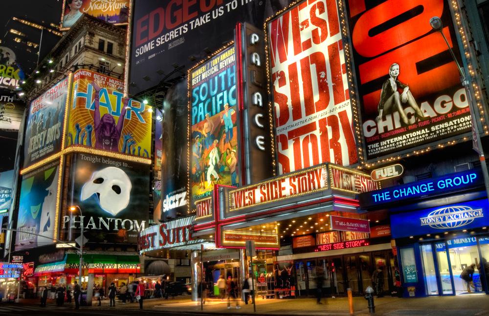 Broadway comédies musicales