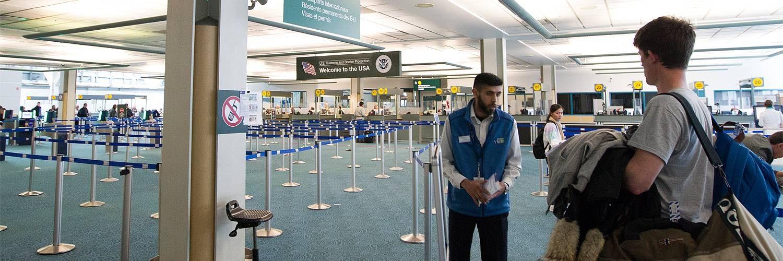 passage immigration americaine